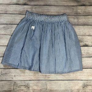NWT Old Navy Striped Skater Skirt Size M